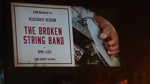 21:00 | Live Bluegrass Session with The Broken String Band | The Dirty Onion