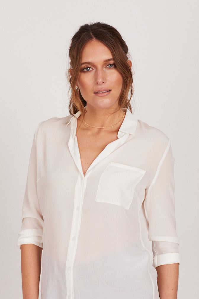 SOLENE SILK SHIRT