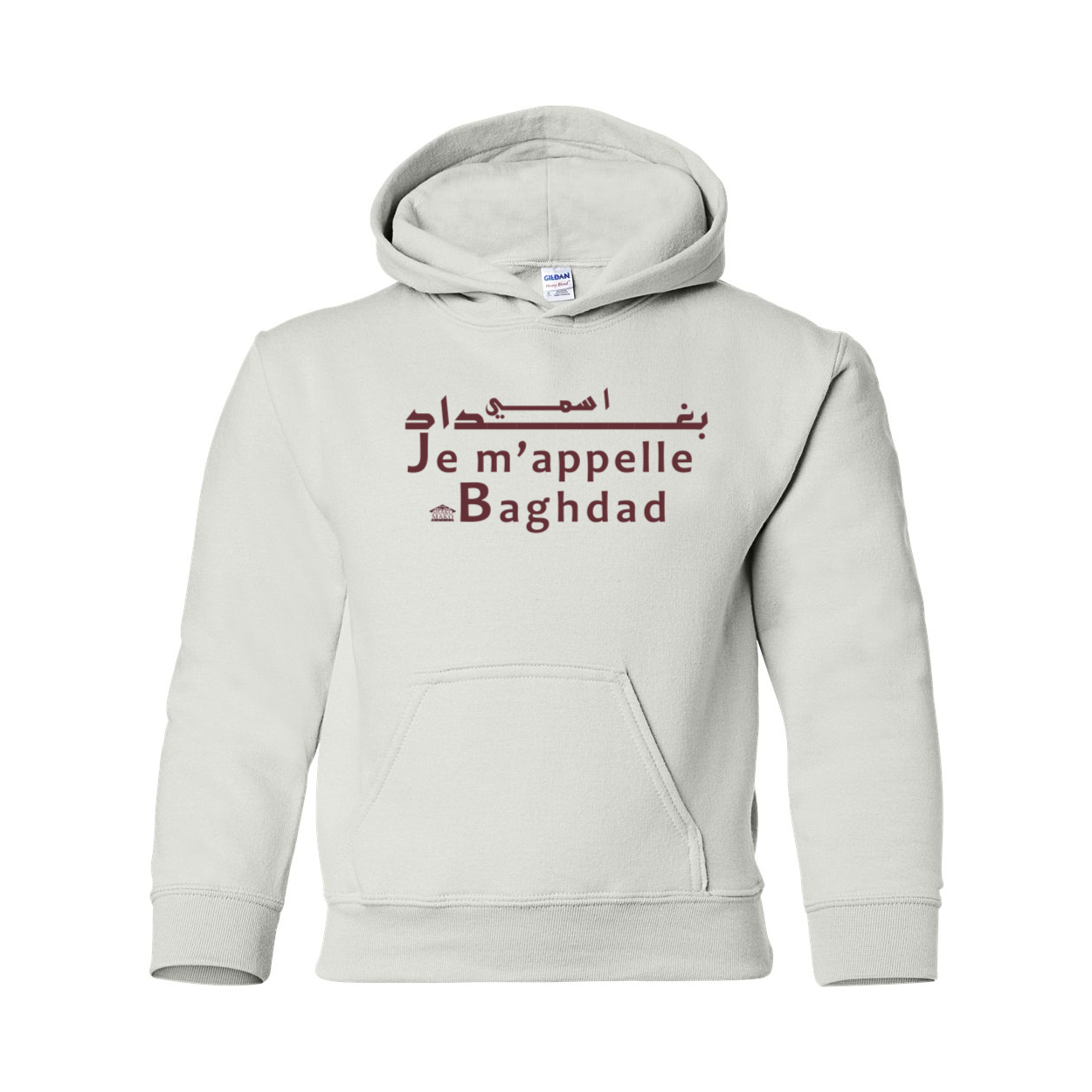 Je m'appelle Baghdad Youth Hooded Sweatshirt