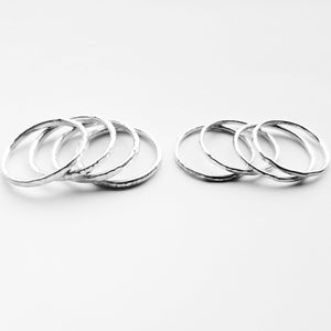 Cruach - Sterling Silver Stacking rings £8