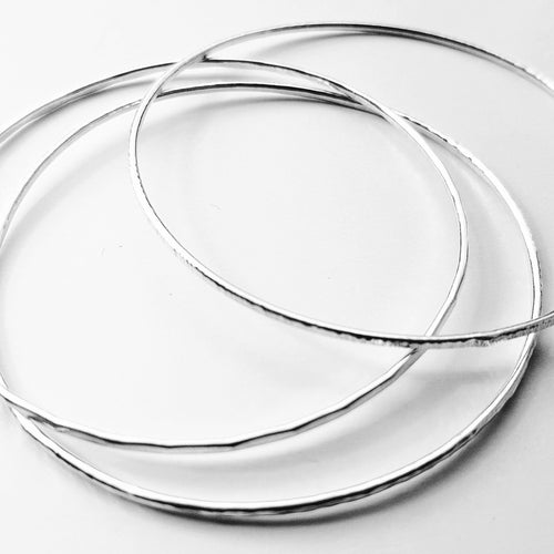 3 Sterling Silver Stacking Bangles