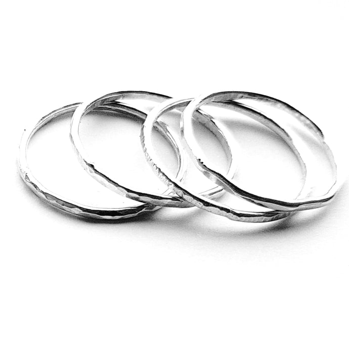 Cruach - Sterling silver stacking rings set £15