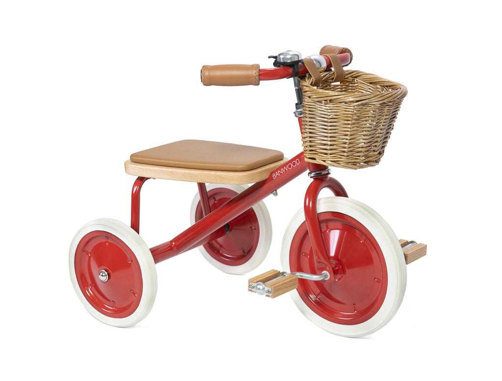 Banwood | Trike | Red - HelloBaby.be