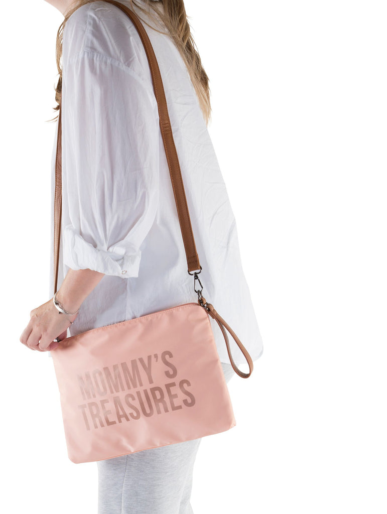 Mommy's Treasure Clutch | Roze Koper