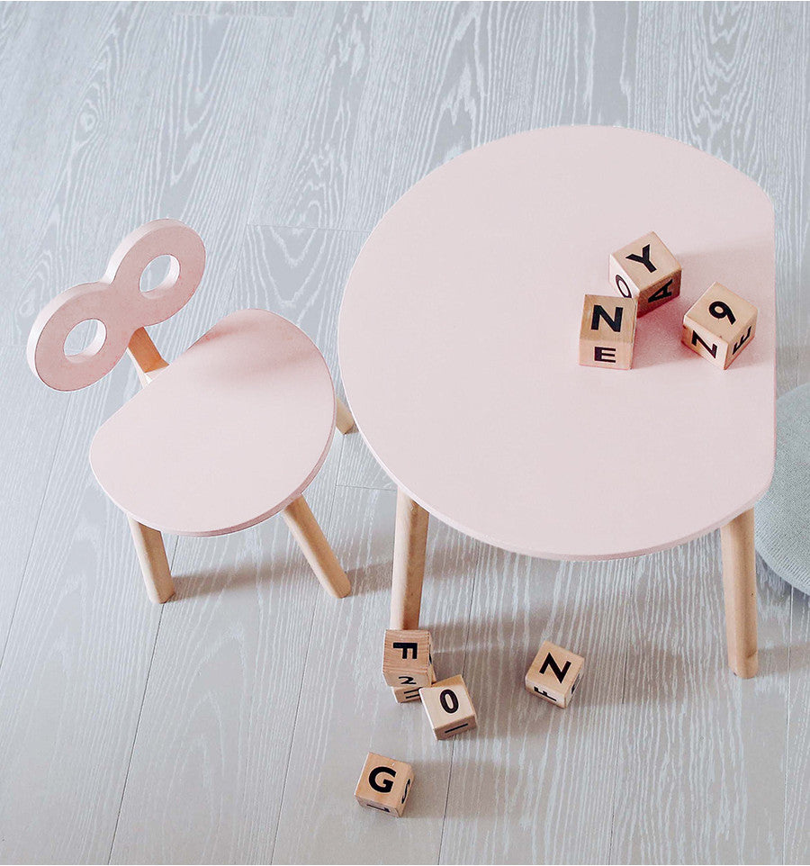 OOH NOO | Half-Moon table blush