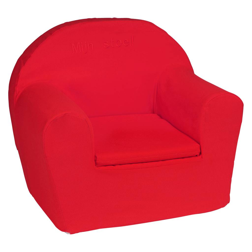 Kinderfauteuil Met Naam.Kinderfauteuil Met Naam Rood Hellobaby Be