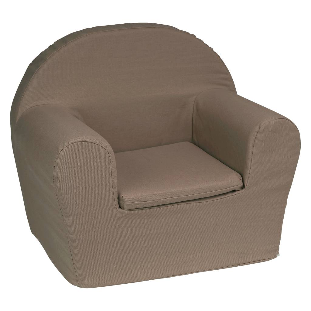 Kinderfauteuil Met Naam.Kinderfauteuil Met Naam Taupe Hellobaby Be