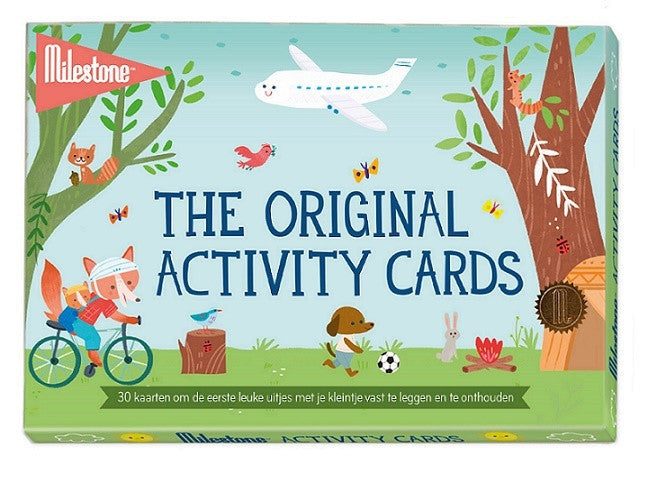 Milestone activity cards (Nederlandstalig) - HelloBaby.be