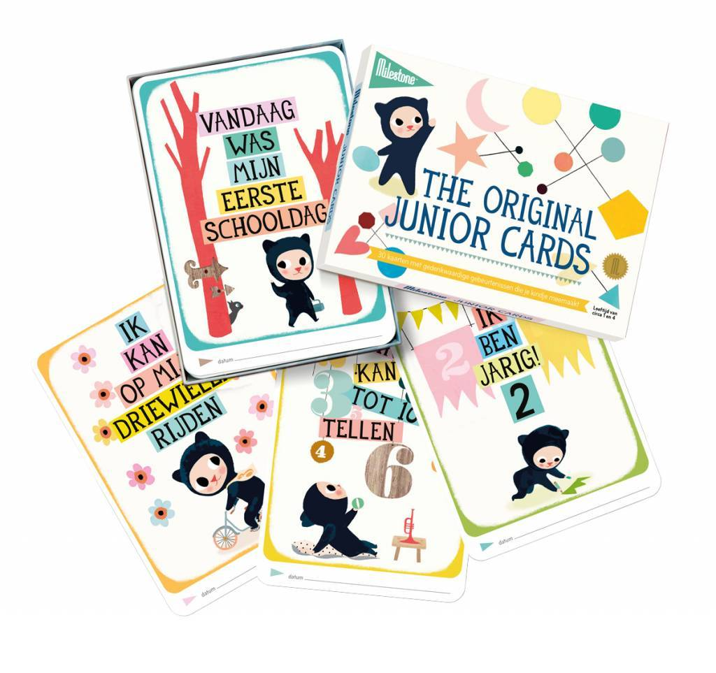 Milestone junior cards (Nederlandstalig) - HelloBaby.be