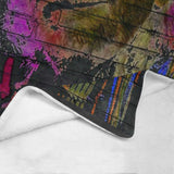 "Graffiti The Last Outlaw Ultra-Soft Micro Fleece Blanket 60""x80"""