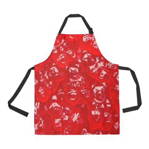 Cinnamon Gummy Bear All Over Print Apron
