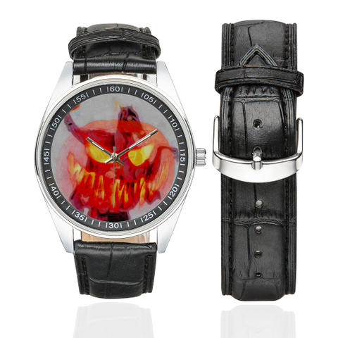 Headless Horseman Men's Casual Leather Strap Watch