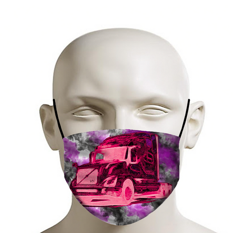 Pink 18 to Life Mask
