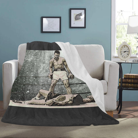 "G.O.A.T Ali Ultra-Soft Micro Fleece Blanket 60""x80"""