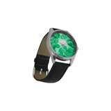 Zombies are Coming Men's Casual Leather Strap Watch