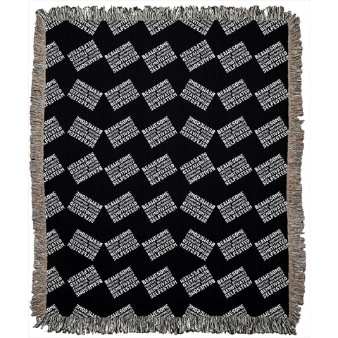 Motivation Woven Blankets