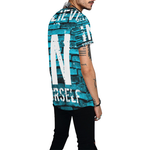 Believe In Yourself All Over Print Baseball Jersey