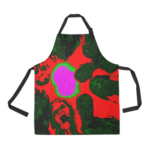 Zombie apocalypse All Over Print Apron