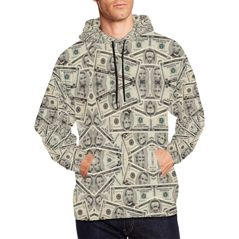 Your Boy Abe Men's All Over Print Hoodie