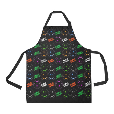 Pursit Happiness All Over Print Apron