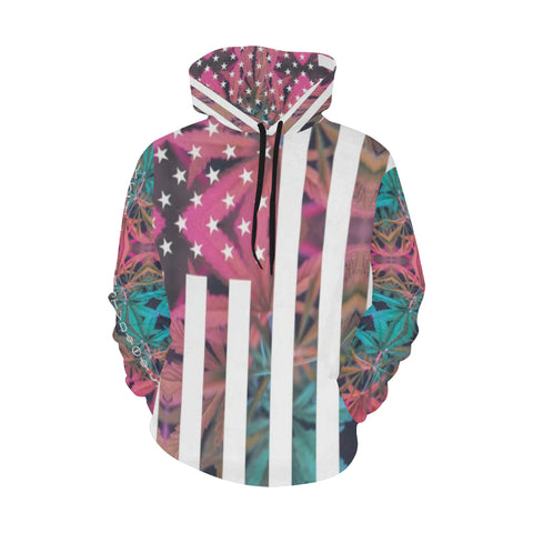American High All Over Print Hoodie for Men