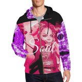 Soul All Over Print Full Zip Hoodie