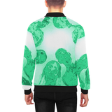 Zombies are Coming Men's All Over Print Baseball Jacket