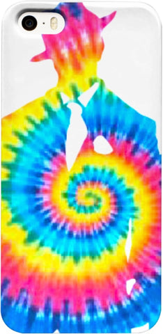 Old G Tye Dye iPhone Case