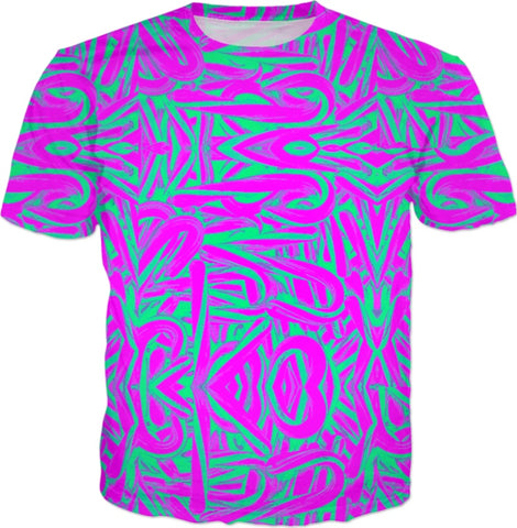 Acid Trip Candy Canes T-shirt