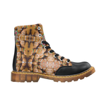 Gingerbread Apache Round Toe Men's Winter Boots