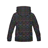 Smiling Faces All Over Print Hoodie for Men