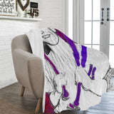"G.O.A.T Mantle Ultra-Soft Micro Fleece Blanket 60""x80"""