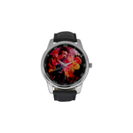 Voodoo Child  Leather Strap Large Dial Watch