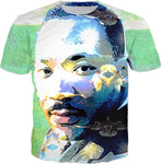 Martin Luther King Jr White Dove T-shirt