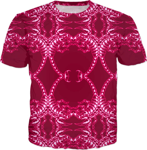 Red Scorpion All Over T-shirt