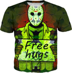 St.Pats Days Jason Free Hugs T-shirts