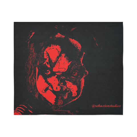 "chucky painting Cotton Linen Wall Tapestry 60""x 51"""