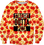 Straight Outta Pizza Ugly Sweater