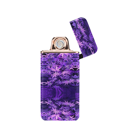 Purple Haze USB Rechargeable Lighter