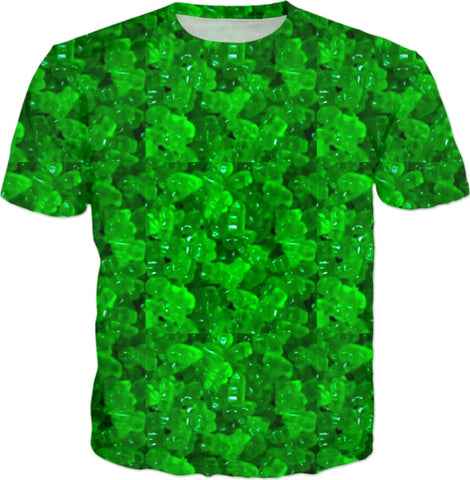Dark Green Gummybear Collection T-shirt