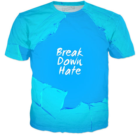 Break Down Hate (blue)