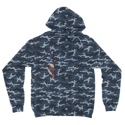 rslogo Camouflage Adult Hoodie