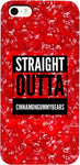Straight Outta Cinnamon Gummybears iPhone Case