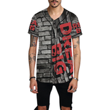 Dream Big Off the Wall  All Over Print Baseball Jersey for Men