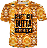 Straight Outta Fried Chicken T-shirt