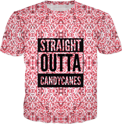 Straight Outta Candy canes T-shirt