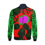 Zombies are Coming All Over Print Bomber Jacket for Men