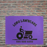 "lmb Metal Tin Sign 16""x12"""