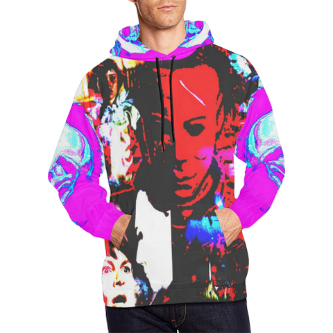 Halloween All Over Print Hoodie
