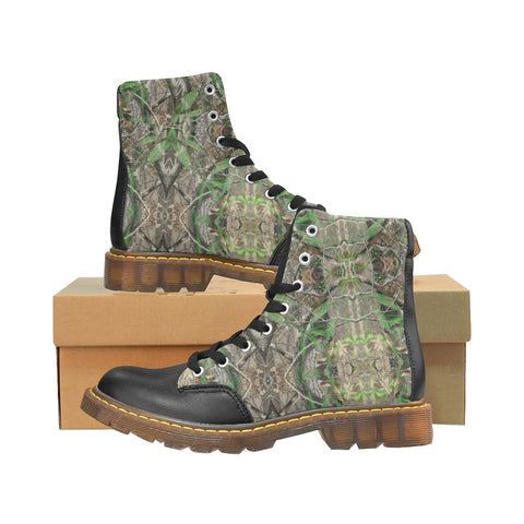 High on Realtree Apache Round Toe Men's Winter Boots